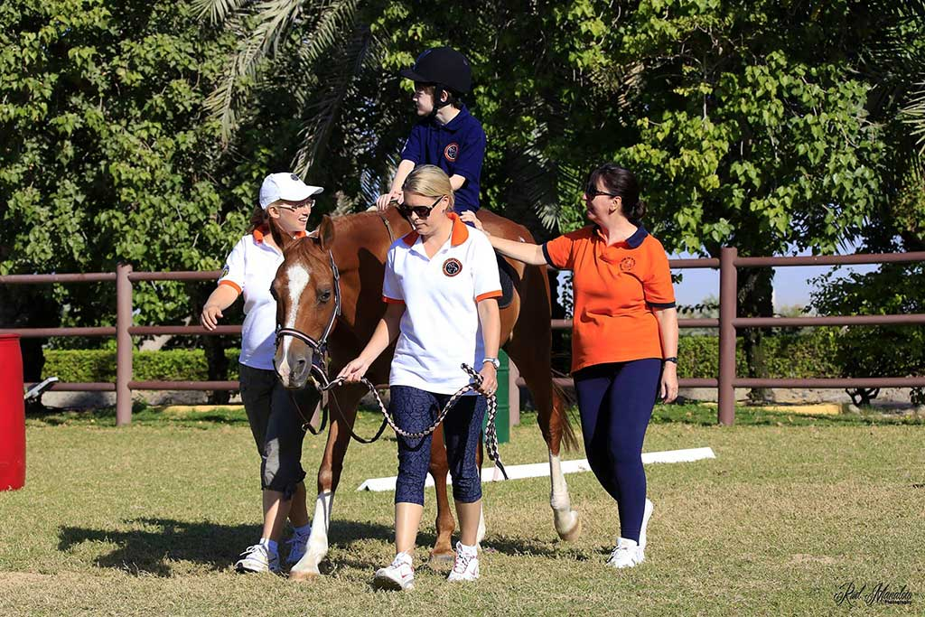 Riding For The Disabled Association Of Dubai 2
