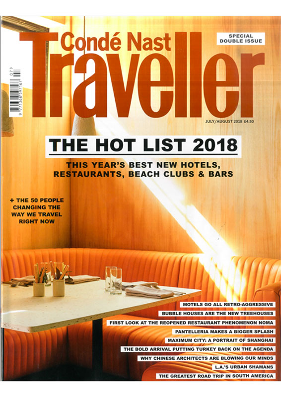 Desroches Conde Nast Traveller June 2018