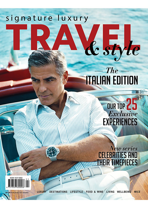 Travel Style  George Clooney