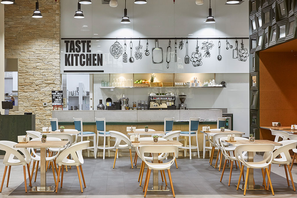 Taste Kitchen Palm Interior