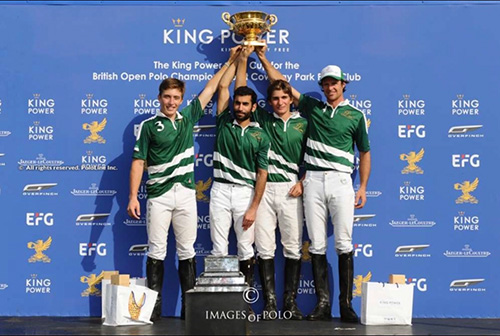Dubai beat VS King Power to lift polo's Gold Cup at Cowdray Park