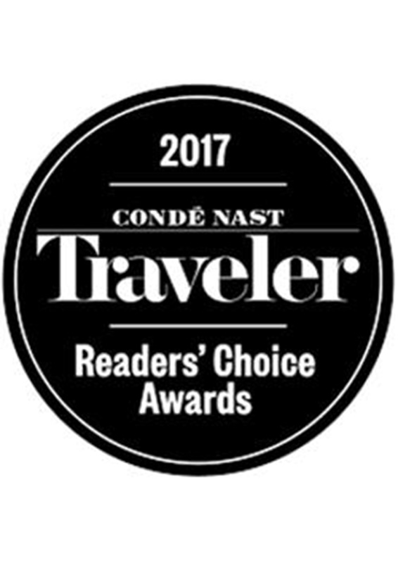 Conde Nast Traveler 2017 Four Seasons Resort Seychelles