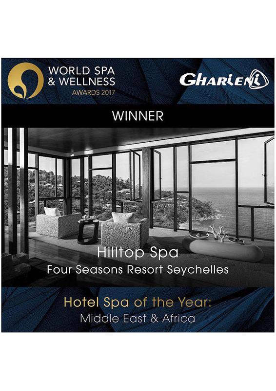 World Spa And Wellness AwardFour Seasons Resort Seychelles